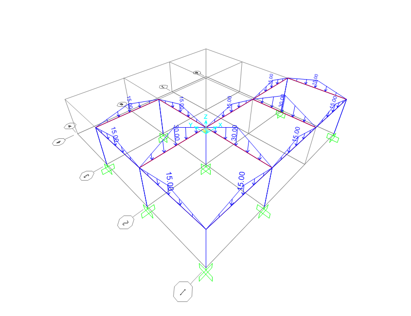 2015-11-05 15_25_13-Uniform Area Load Distributed Two Way to Frames (Floor)