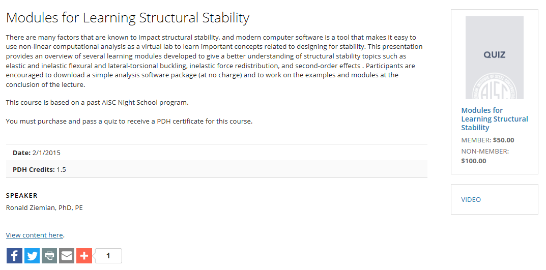 2017-06-27 10_19_07-Modules for Learning Structural Stability _ American Institute of Steel Construc